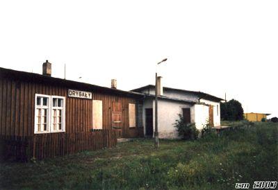 Stacja kolejowa Drygały.