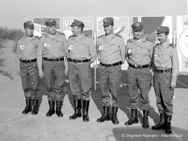 Dowództwo 2 KOP podczas ćwiczenia ARGON–76.