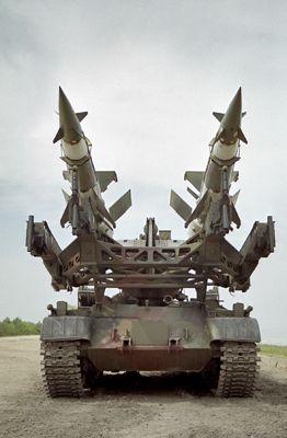 Wyrzutnia rakiet PZR S-125 NEWA-SC.