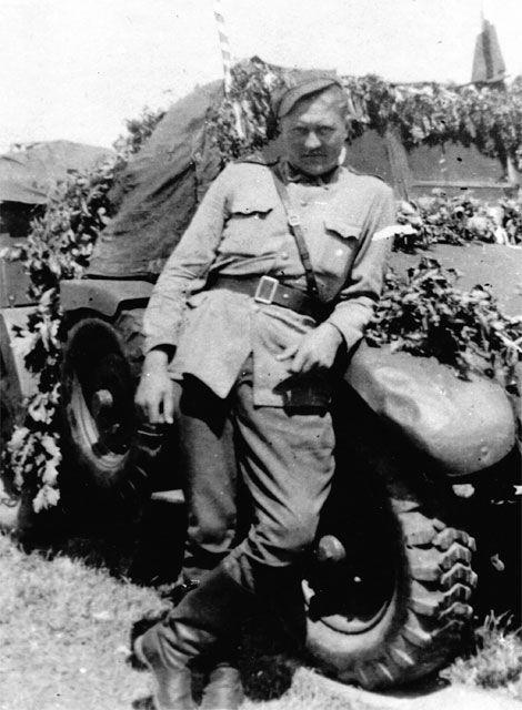Powrót z frontu. IX 1945.