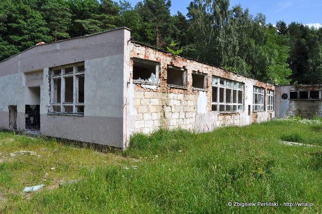 Stołówka żołnierska w 40. dr OP m. Kołczewo - 2011 rok.