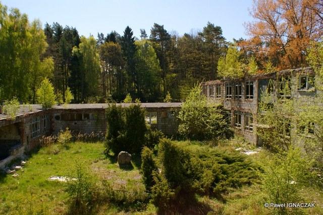 Obiekt sztabowo-koszarowy 40. dr OP m. Kołczewo.
