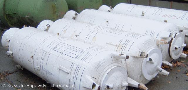 Silniki startowe rakiet PZR S–75M Wołchow.