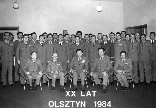 Zjazd koleżeński absolwentów OSUzbr. w 1984 roku.