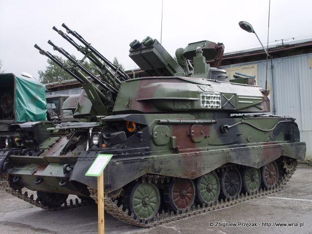Zestaw artyleryjsko-rakietowy ZSU 23-4 MP.