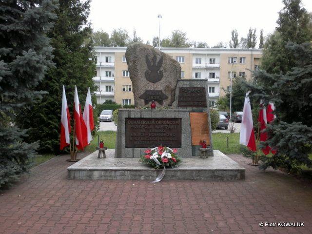 Pomnik Obrońców Warszawy 1939 roku.
