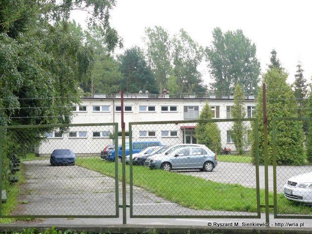 Budynek koszarowy byłego 65. dr OP m. Rozewie.