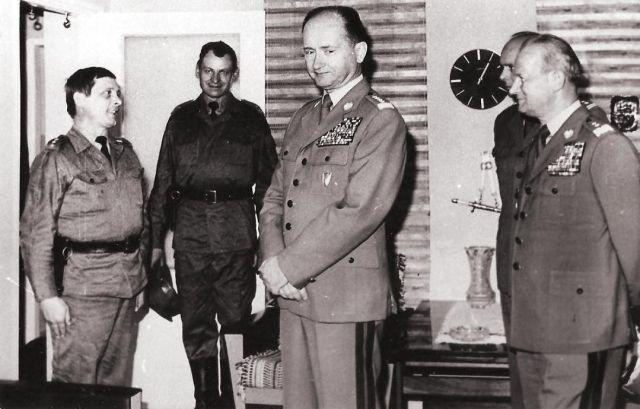 Minister Obrony Narodowej gen. Wojciech Jaruzelski z wizytą w 65 doar - 1980 r.