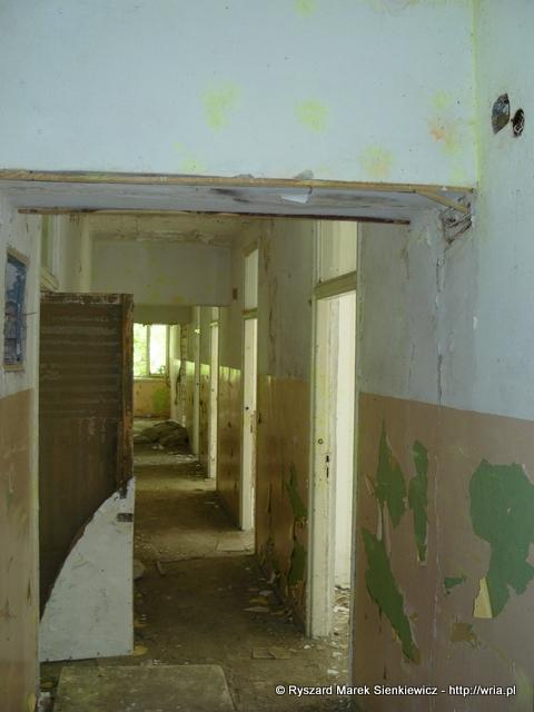 Pomieszczenia sztabu 63. dr OP m. Nadarzyn-Rusiec.