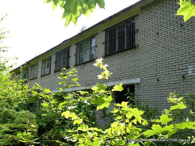 Budynek sztabu 63. dr OP m. Nadarzyn-Rusiec.