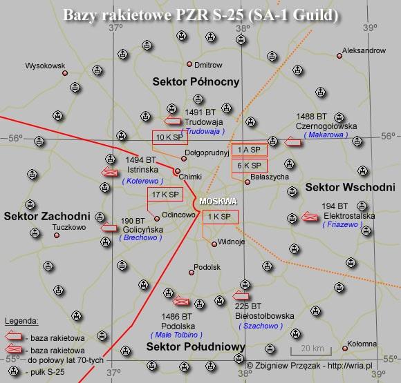 Bazy rakietowe S-25 (SA-1 Guild)