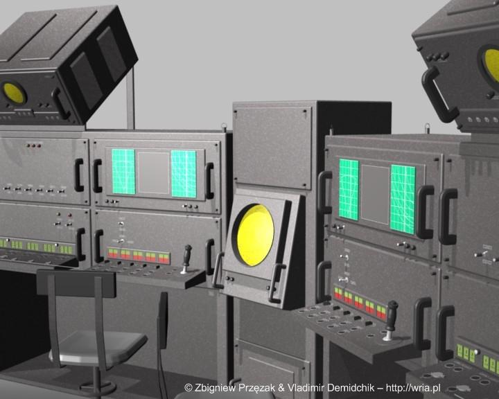 Blok wskazywania celĂłw, automatycznego naprowadzania i startu rakiet.