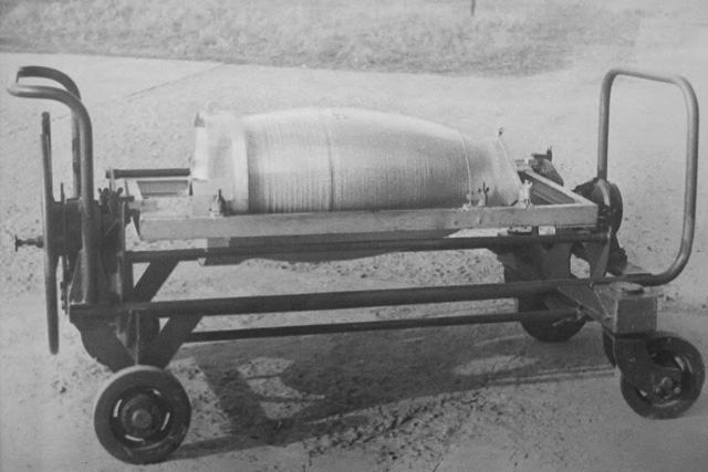 Ładunek bojowy rakiety 5Ja25 PZR S-25M.