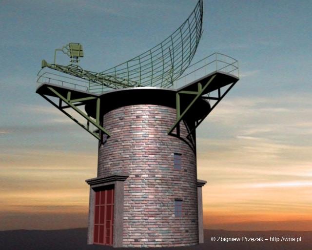 WieĹźa pod system antenowy RLS A-100B.