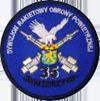 Odznaka pamiątkowa 35. dr OP