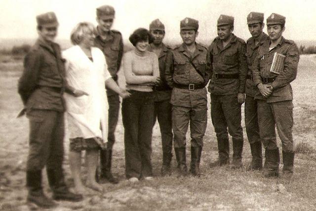 Zgrupowanie poligonowe w 15. Ośrodku Poligonowym Artylerii OPK w Mrzeżynie - 1979r.