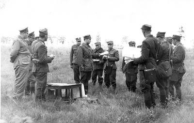 Ćwiczenia taktyczne 129 spaplot - Szczecin 1959 r.