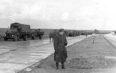 Ćwiczenia taktyczne 129 spaplot - Szczecin 1958 r.