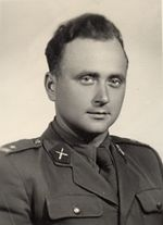 mjr Mieczysław Wasąg - dowódca 129 spaplot - Szczecin.