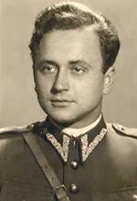 ppor. Mieczysław Wasąg - dowódca baterii plot.