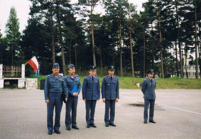 Maj 1996 r., przekazywanie obowiązków dowódcy  46. dr OP.