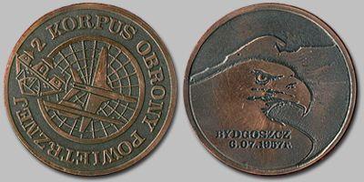 Medal Pamiątkowy 2 KOP.