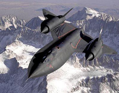 Samolot rozpoznawczy SR-71.