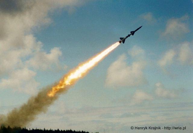 Start rakiety W-755 (poligon Ustka).