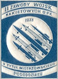 Emblemat II Zawodów WR OPK -1973.